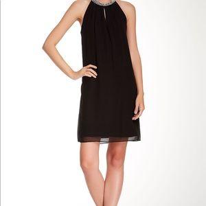 DVF Lainey Embellished Silk Cocktail Dress